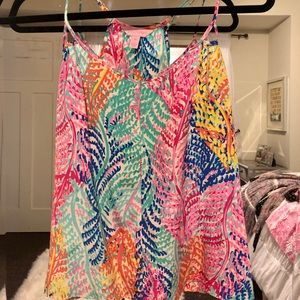 Lily Pulitzer Colorful Seaweed Sleeveless Blouse